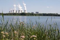 Peitzer Teichelandschaft mit Kraftwerk Jänschwalde