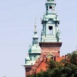Türme der Wawel-Kathedrale