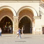 Eingang zu den Tuchhallen