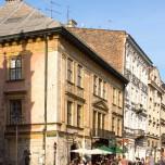 Krakauer Straßenszene