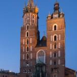 Abendliche Marienkirche I