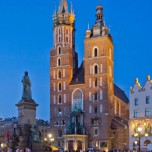 Abendliche Marienkirche III
