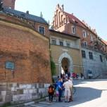 Eingangsbereich zum Wawel