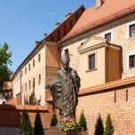 Statue für Johannes Paul II.