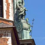 Figur an der Kathedrale I