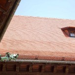 Königsschloss, Dach