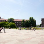 Wawel mit Sanomierz-Trum
