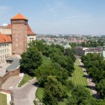 Blick auf Krakau III