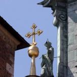 Figur an der Kathedrale VI