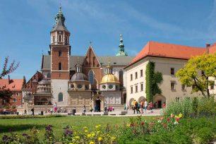 Wawel - Die ehemalige Residenz der polnischen Könige in Krakau