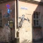 Straßenmalerei