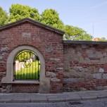Remuh-Friedhof von außen