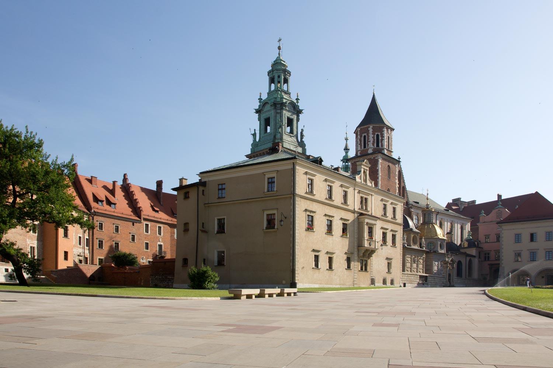 Allein auf dem Wawel
