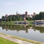Letzter Blick auf den Wawel