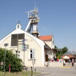 Förderturm in Wieliczka
