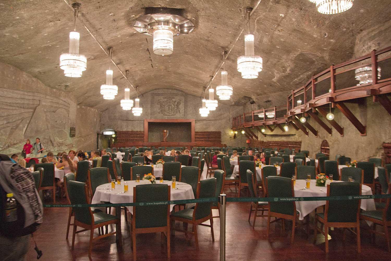 Restaurant unter Tage