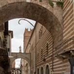 Blick vom Piazza delle Erbe