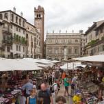 Markt auf Piazza delle Erbe
