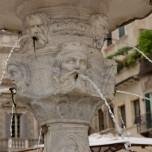 """Brunnendetail, """"Madonna Verona"""""""
