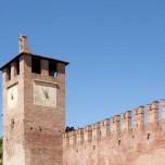 Uhrturm des Castelvecchio
