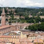 Blick auf die Kirche Sant'Anastasia