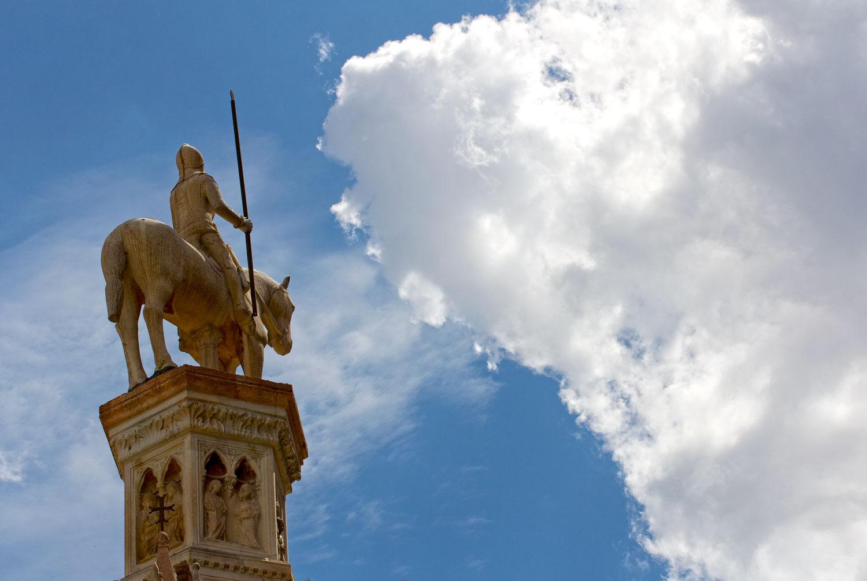 Reiterstatue des Cangrande I.