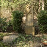 Stele mit Orthodoxem Kreuz