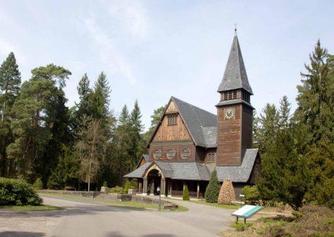 Kapelle auf dem Südwestfriedhof Stahnsdorf