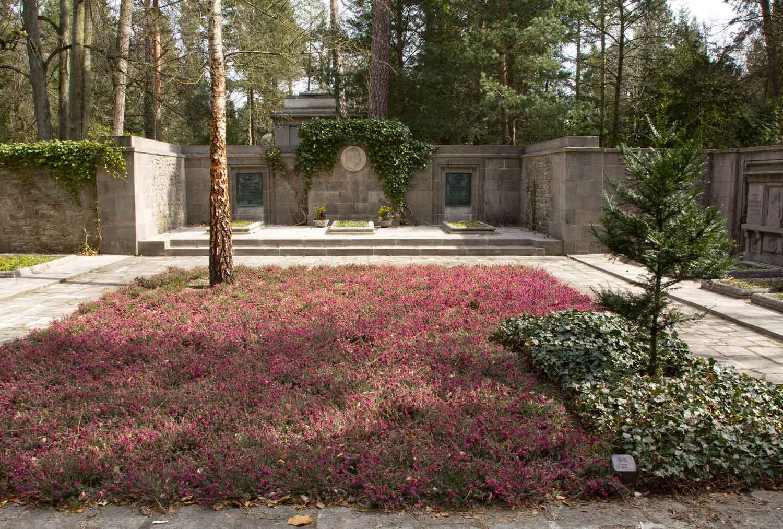 Grabstätte von Werner von Siemens und Familie