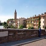 Auf der Ponte Pietra II
