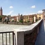 Auf der Ponte Pietra V
