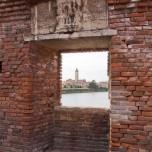 Blick von der Ponte Scaligero