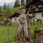 """""""St. Sciuss"""" - Schutzpatron der Skifahrer"""