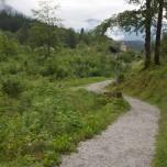 Wanderweg zum Badersee