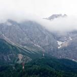 Über den Wolken die Zugspitze