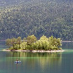 Idyllische Insel