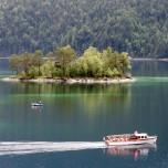 Bootstour auf dem Eibsee