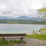 Bank am Eibsee