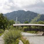 Brücke über die Loisach