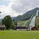 Skischanze und Olympiastadion in Garmisch-Partenkirchen