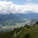 Blick vom Wank auf Garmisch-Partenkirchen II