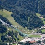Olympiastadion von Garmisch-Partenkirchen