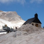 Kirche Maria Heimsuchung auf der Zugspitze