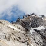 Blick zur Zugspitze vom Zugspitzplatt aus