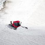 Arbeit am Gletscher Nördlicher Schneeferner