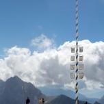 Maibaum auf der Zugspitze