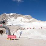 Rodelbahn an der Zugspitze