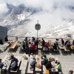 Deutschlands höchster Biergarten