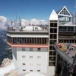 Österreichische Seite der Zugspitze