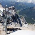 Sendestation auf der Zugspitze
